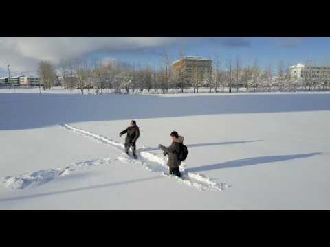 Record snow in Reykjavik Iceland * Shot on DJI Mavic Pro