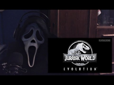 Jurassic World: Evolution Game (2017) Trailer REACTION! - Ghostface Reacts