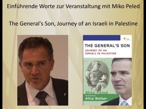 Miko Peled - Einführende Worte am 30. Juni 2015 in Berlin