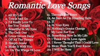 ROMANTIC LOVE SONGS   COMPILATION   NON STOP MUSIC   LOVE SONGS 70s, 80s & 90s
