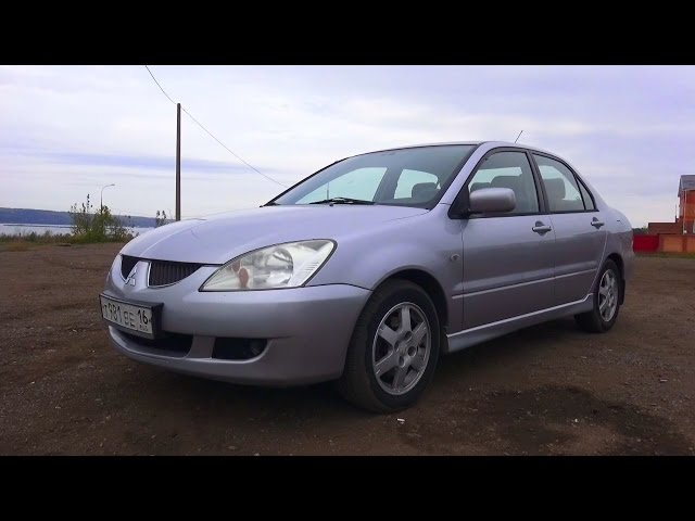 2004 Mitsubishi Lancer 1.6 AT Тест-Драйв.