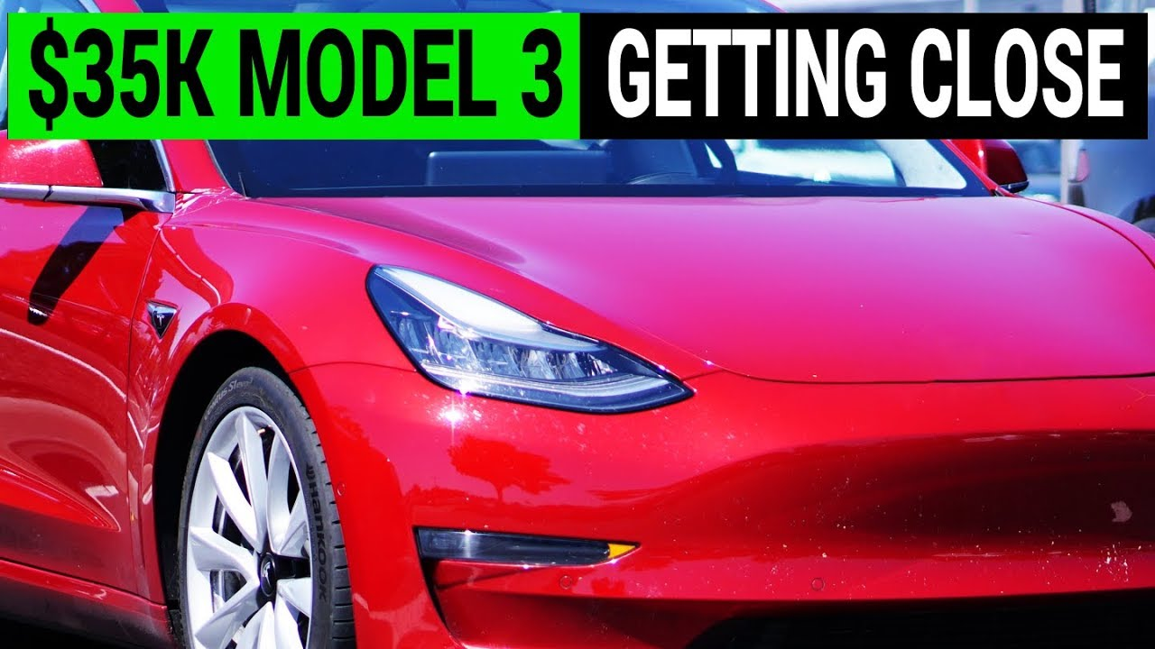 Is $35,000 Tesla Model 3 Closer to Reality?
