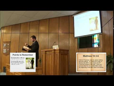 the biblical perspective of same sex marriages The biblical case in support of same-sex relationships  but that's very different than same-sex marriages that  same-sex marriage.