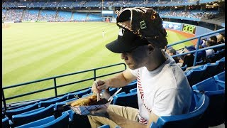 If you hit up a Blue Jays game in Toronto, THIS IS WHAT TO EAT. And...