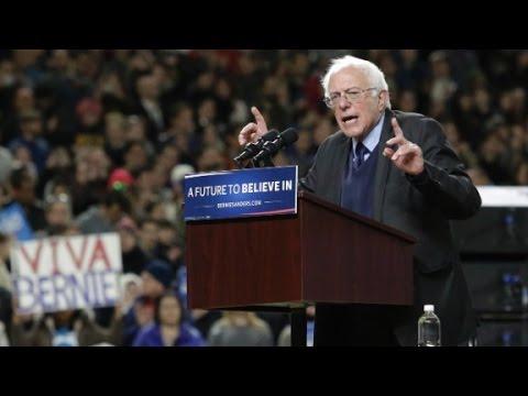 Sanders discusses Rosario Dawson attack on Hillary Clinton