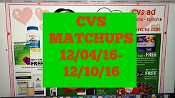 MONEY MAKER ZANTAC AND MORE ~ CVS Matchups 12/04/16-12/10/16