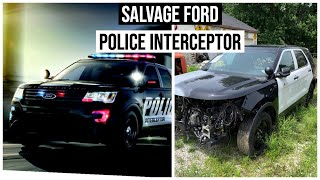 I BOUGHT A WRECKED 2017 FORD POLICE INTERCEPTOR!!