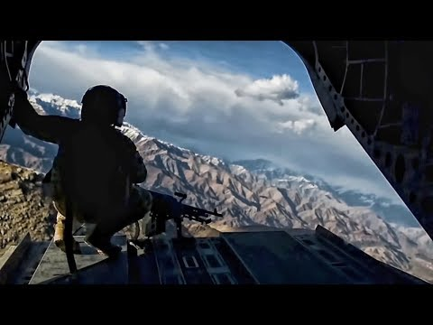 U.S. Army Chinooks Transport Pararescuemen In Afghanistan