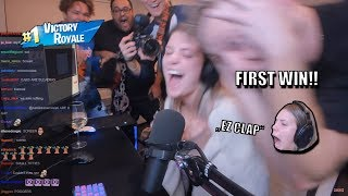TFUE Helps ALISSA VIOLET Get Her First Win on FORTNITE