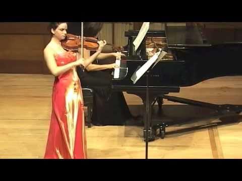 Vieuxtemps Sonata first movement Marina Thibeault, viola and Elena Jivaeva, piano