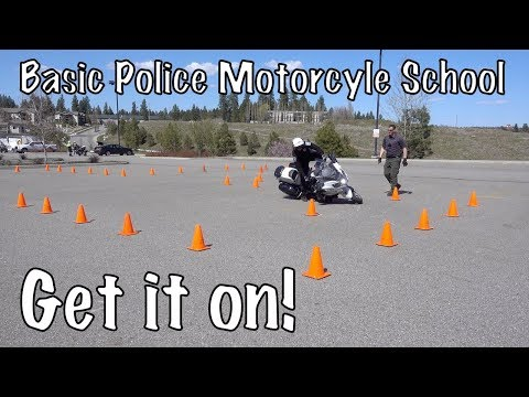 Basic Police Motorcycle School-New Students-High Speed Track & Off Road Riding-Spokane, Wa