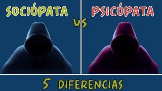 5 Diferencias entre un SOCIÓPATA y un PSICÓPATA