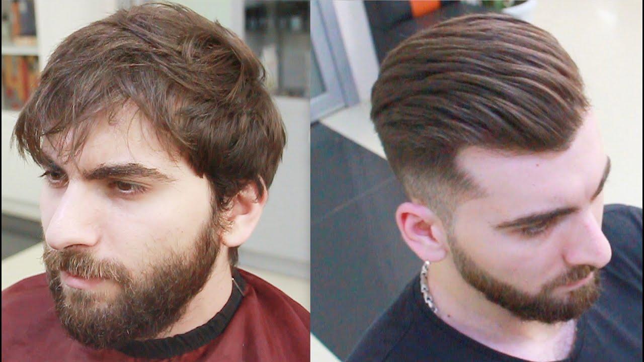 Learn to cut hair! male haircut,amazing transformation, hair cutting, video