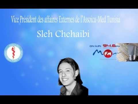 Sleh Chehaibi sur les ondes de Radio MFM - Associa-Med Tunisia