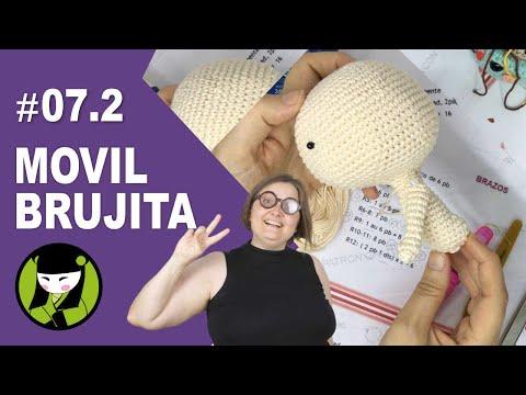 Como tejer una bruja a crochet 7.2 amigurumi y mi vuelta de las vacaciones