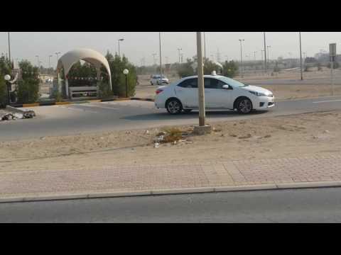 Bahrain Driving Test Reverse Gear
