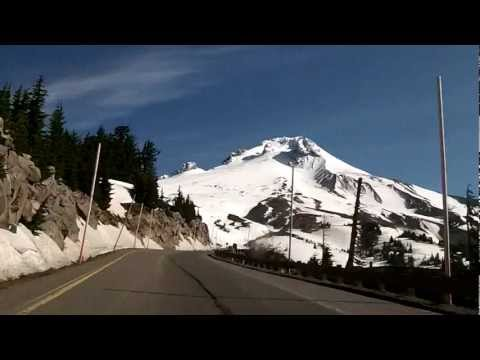 Oregon's Mount Hood, Timberline Lodge & Mirror Lake