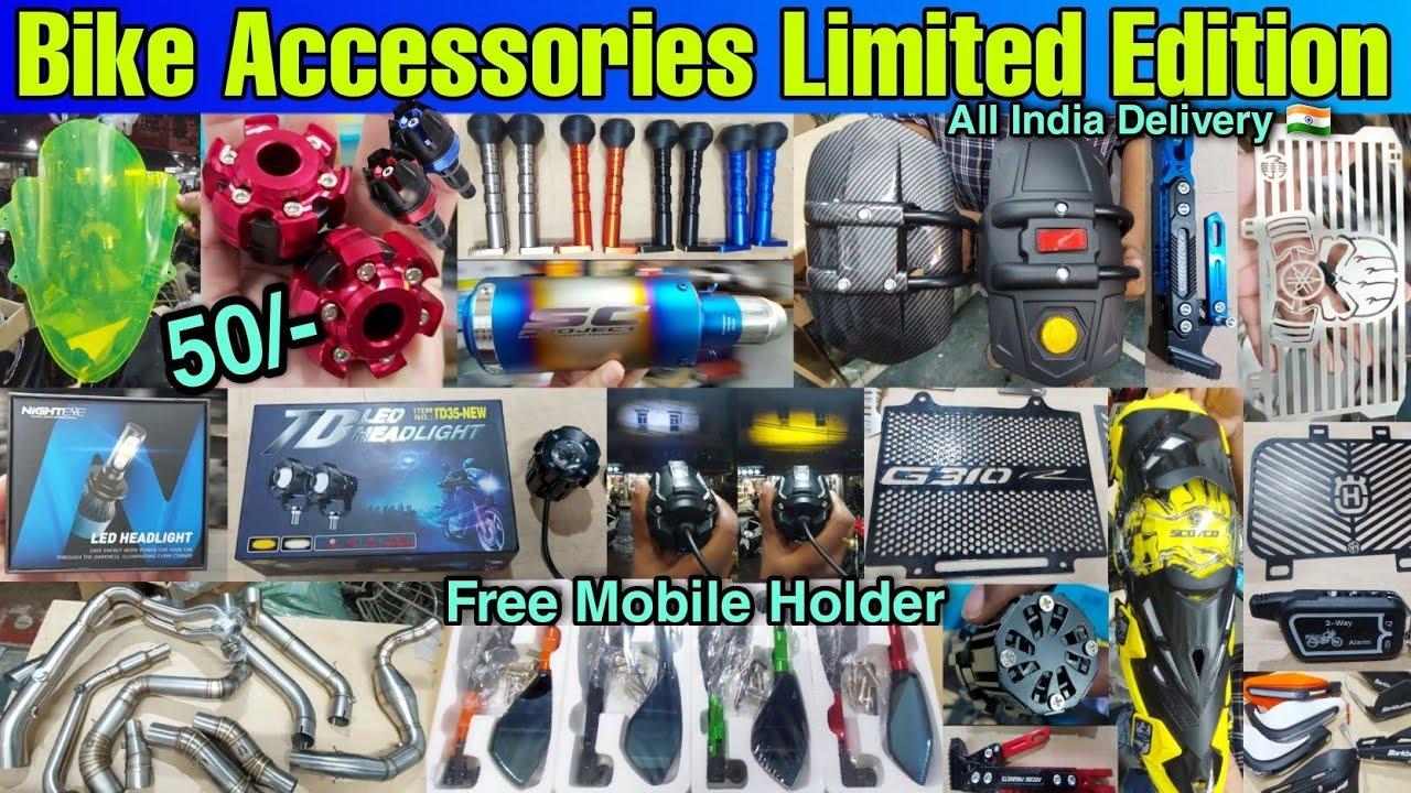 Sports Bike Accessories Limited Edition | Dominar, Ninja, Pulsar, KTM, R1, RR, Ducati, BMW, Harley