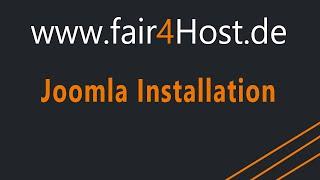 fair4Host Joomla installieren inkl. Blank Template unter ISPConfig