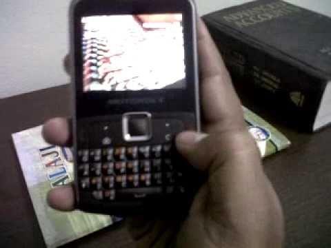 Motorola Dual Sim Ex-115- India edition-Part1