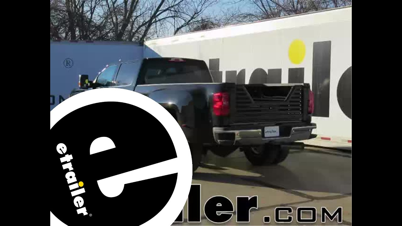 Installation of the stromberg carlson 5th wheel louvered tailgate on a 2015 gmc sierra 3500