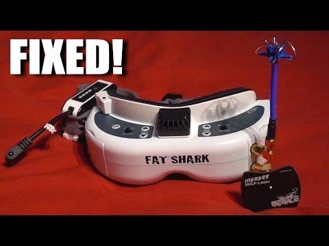 Fatshark HD3's Fixed!