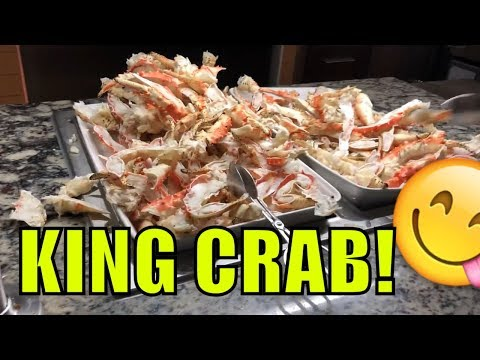 Talking Stick Casino Dinner Buffet! King Crab Legs! October 2018