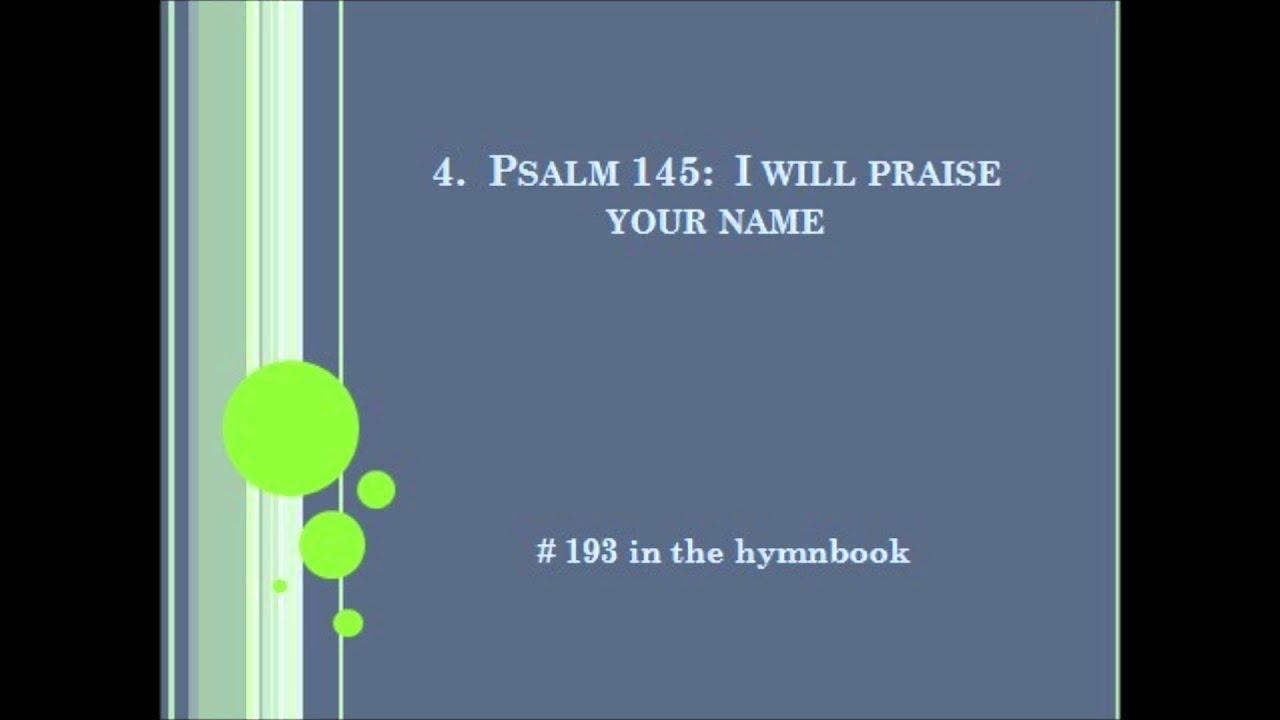 Wedding Responsorial Psalms