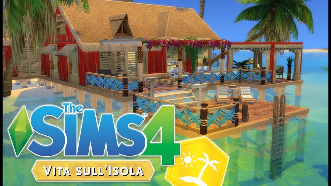 Beach house the sims 4 island living vita sull 39 isola for Creare case