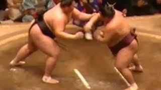 徳勝龍vs逸ノ城 徳勝龍vs逸ノ城 SUMO Tokushoryu vs Ichinojo 大相撲平...
