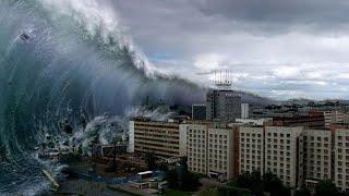 Чудовищный поток смывал здания, люди пропадают, полная разруха. Птопы в Европе