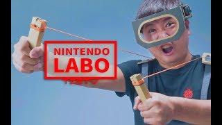 《值不值得买》第243期:硬盒游戏 任天堂LABO