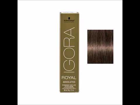 Schwarzkopf Professional Igora Royal Absolutes Hair Color 5 50 Light
