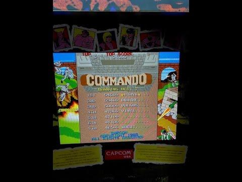 Arcade 1up Capcom Legacy Cabinet Commando High Score Challenge. from 8-Bit Vinyl