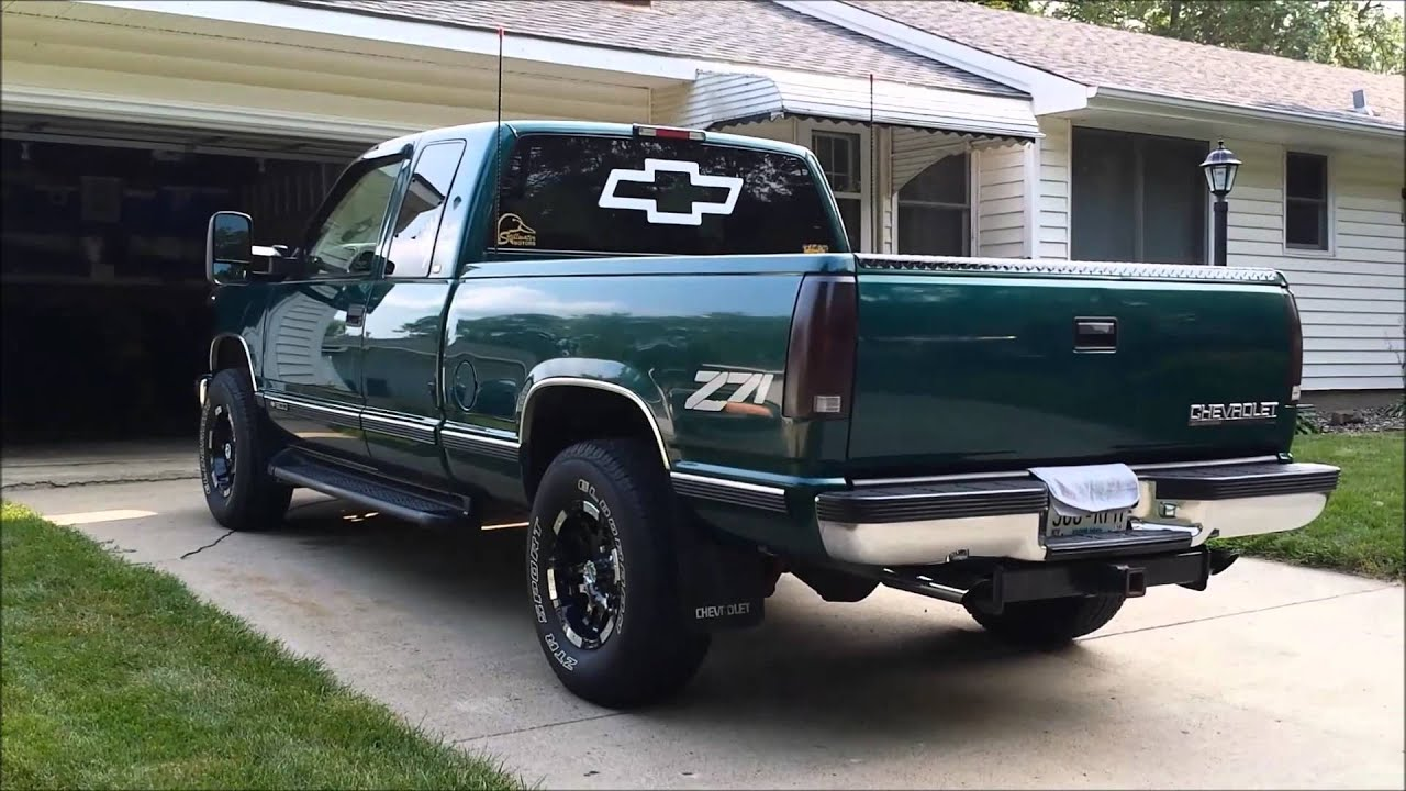 1998 Chevrolet Silverado K1500 Overview Youtube