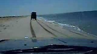 Driving along Mauretania's Atlantic Coast