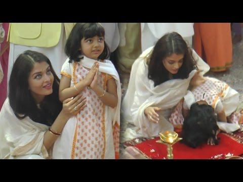 "Aishwarya Rai Bachchan Teaches Aardhya Bachchan ""How To Pray"" | FULL VIDEO"