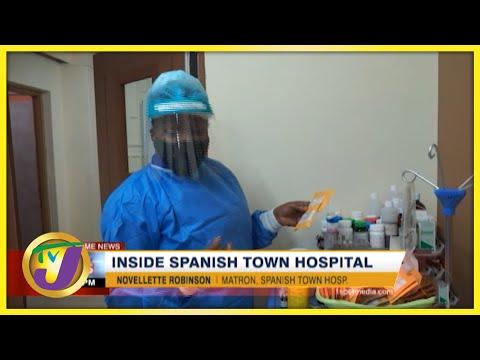 Inside Spanish Town Hospital   TVJ News - August 23 2021