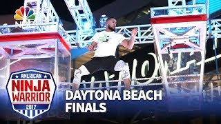 JJ Woods at the Daytona Beach City Finals - American Ninja Warrior 2017
