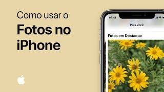 Como usar o Fotos no iPhone
