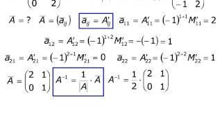 Метод обратной матрицы (02)