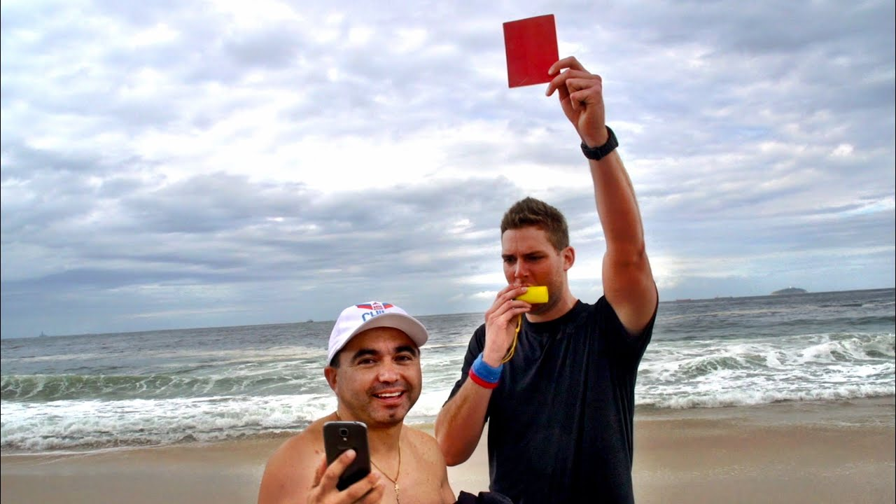 Red Cards in Rio Prank | Dude Perfect by Dude Perfect