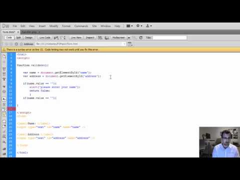 HTML Form And PHP Action Handler Tutorial