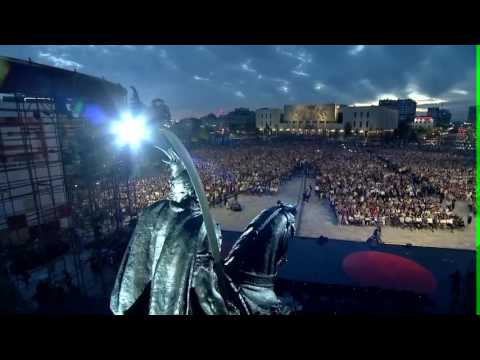 """Rama emocionohet nga sheshi """"Skënderbej"""": Më dridhen gjunjët, hera e parë në jetën time politike"""
