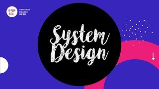 Year 9 &10 Design   SYSTEM