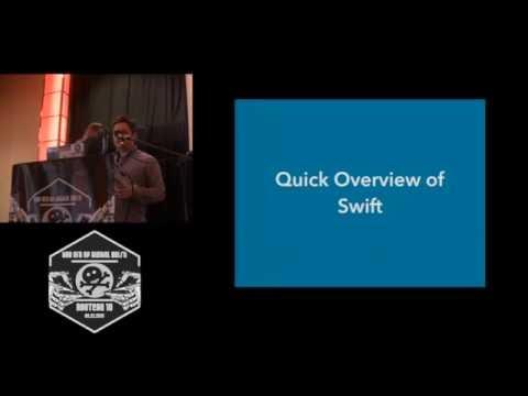 ROOTCON 10   Reverse Engineering Swift Apps  by  Michael Gianarakis