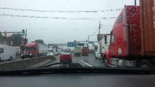 20131007 1207 Driving from Elizabeth, NJ to Holland Tunnel