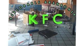 abandoned fly infested KFC
