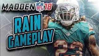 Madden NFL 18 Gameplay - RAIN GAME!!!! Dolphins Vs Bills!