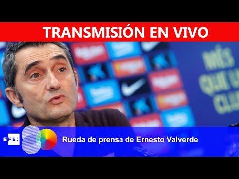 🔴📡 #ENVIVO   Rueda de prensa de Ernesto Valverde
